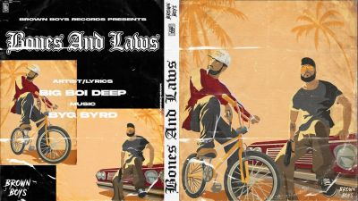 Checkout new punjabi song bones and laws lyrics penned and sung by Big Boi Deep