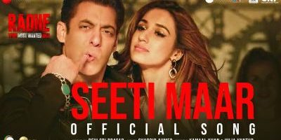 Checkout new song Seeti Maar lyrics penned by Shabbir Ahmed for Radhe Movie ft Salman Khan & Disha Patani