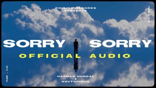 Checkout new song Sorry Lyrics penned and sung by Harman Hundal ft Janvi Nahar